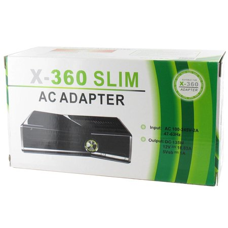 135 Watt Slimline Voeding voor XBOX 360