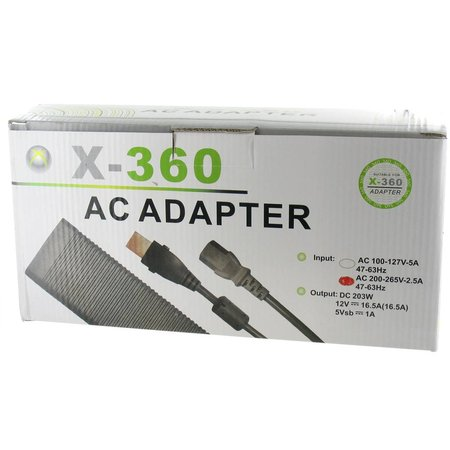 203 Watt Voeding voor XBOX 360 Xenon / Zepher