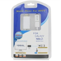 Micro USB MHL naar HDMI Adapter Kabel Wit