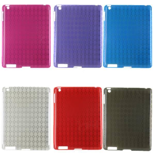 Siliconen Beschermhoes Paars voor de iPad 2 / 3