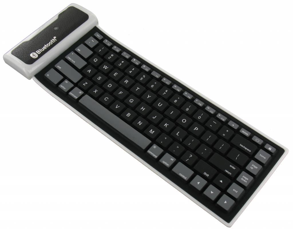 Flexibel draadloos bluetooth toetsenbord universeel