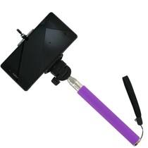 Selfie Statief voor Smartphones Paars Stick