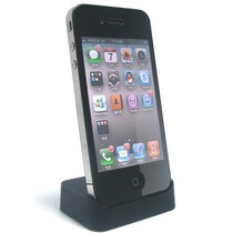 iPhone 4 Docking Station Zwart Desktop Cradle
