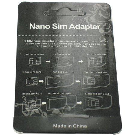 Micro en Nano Sim Adapters Set