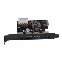 PCI Express 4 Poorts USB 3.0 Kaart