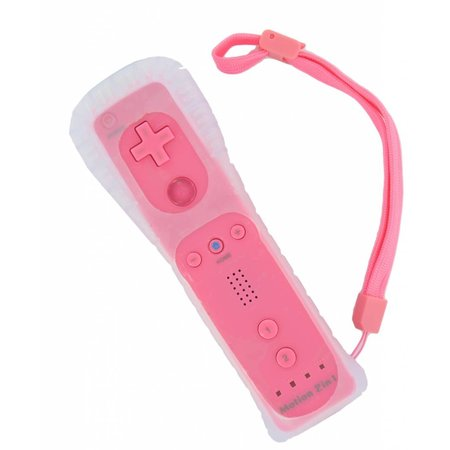 Remote Roze voor de Wii en Wii U met Motion+