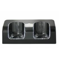 Duo Oplaadstation Zwart voor Wii en WiiU Remotes