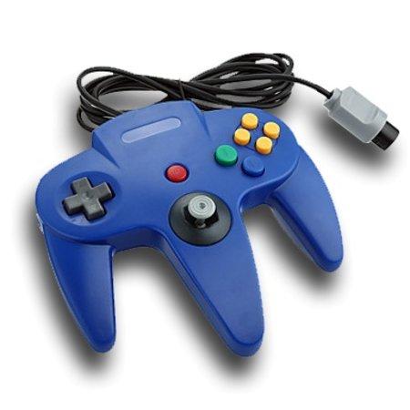 Controller voor Nintendo 64 Blauw