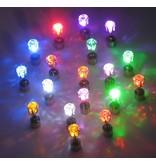 LED Oorbellen Set Paars
