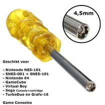 Schroevendraaier 4,5mm voor NES, SNES, N64 en GameBoy Consoles