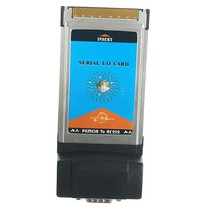 PCMCIA Serieel RS-232 Adapter Kaart DB9