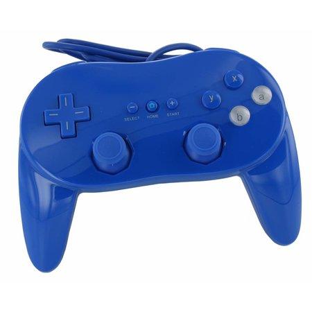 Controller Blauw voor Wii en WiiU