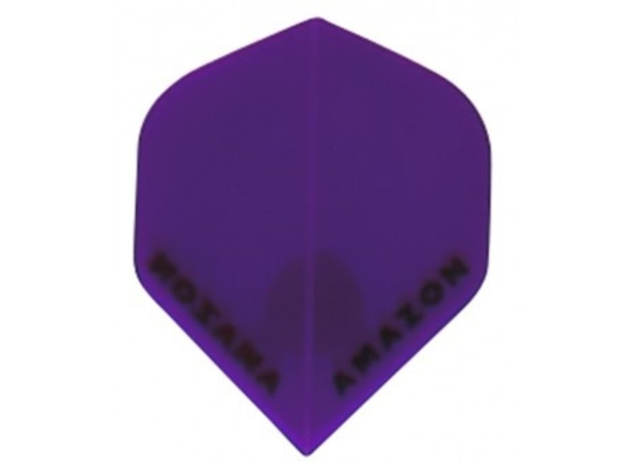 Amazon Flug lila transparent