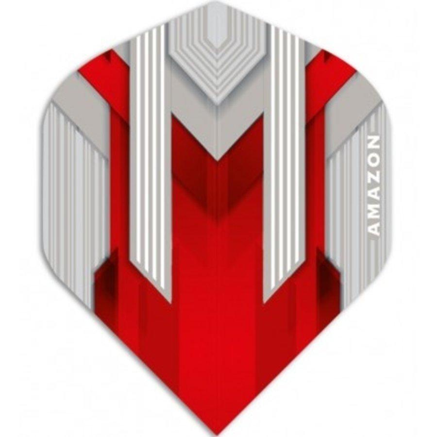 Amazon AM Zilver/rood-1