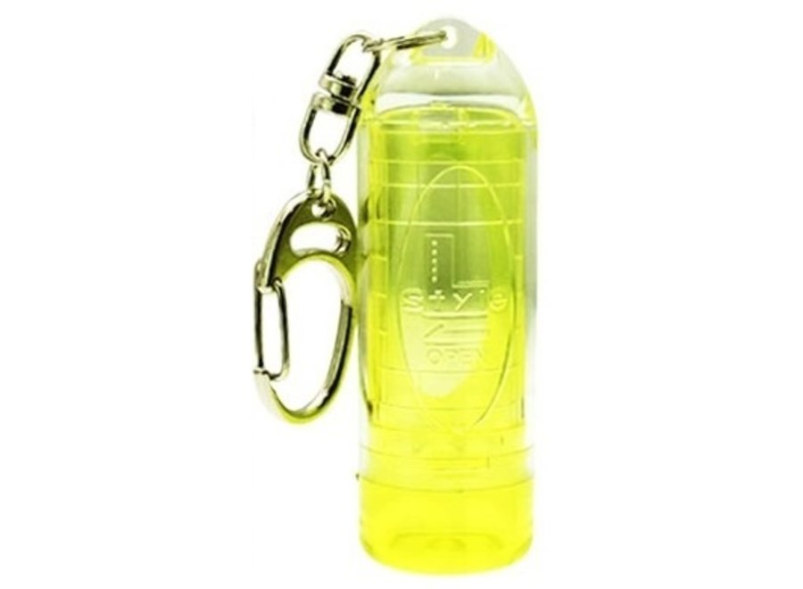 Lipstock case geel