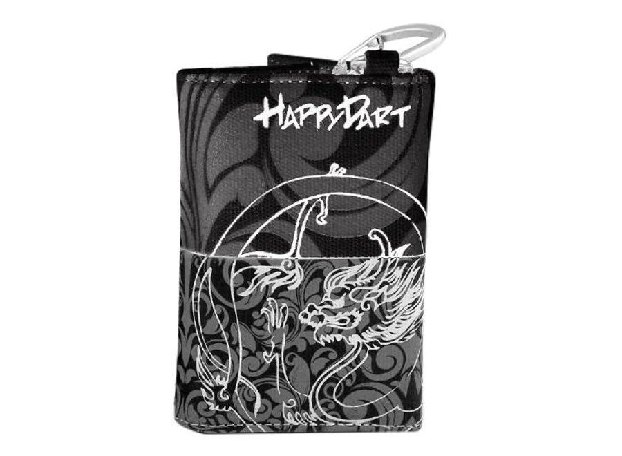 Happy wallet zwart