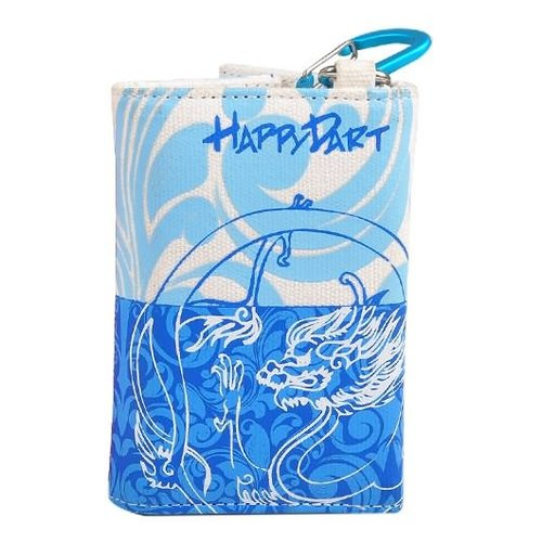 One80 Happy wallet blauw