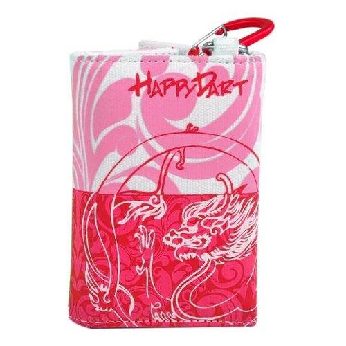 One80 Happy wallet roze