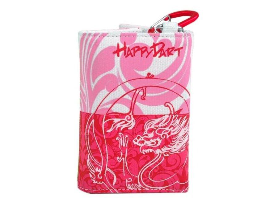 Happy wallet roze