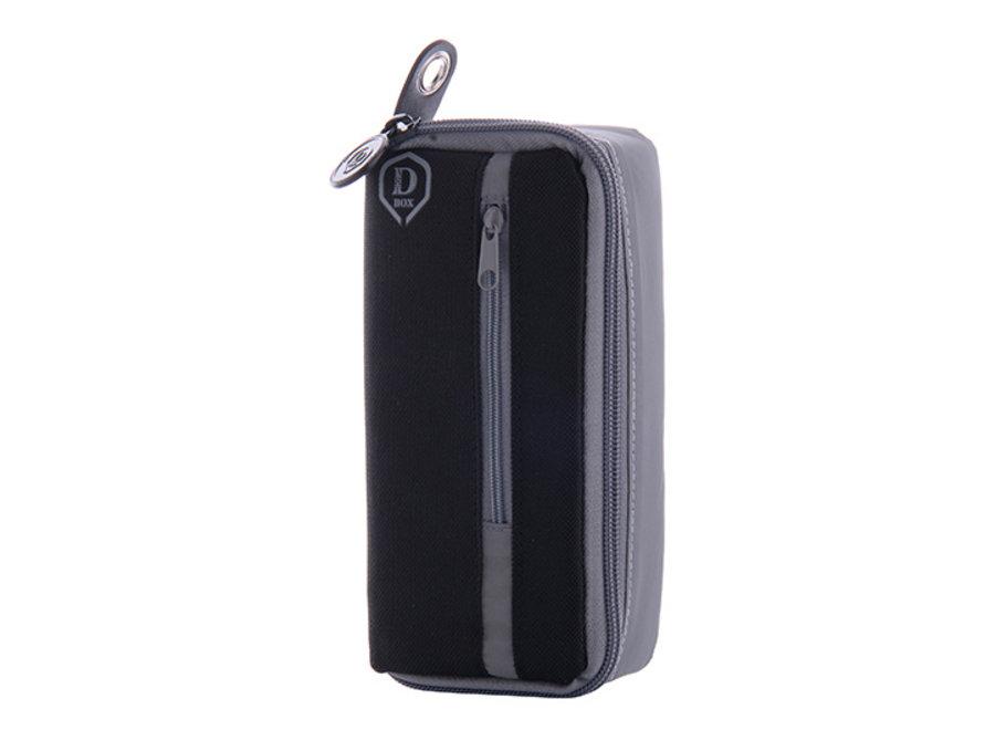 Mini D box zwart/grijs