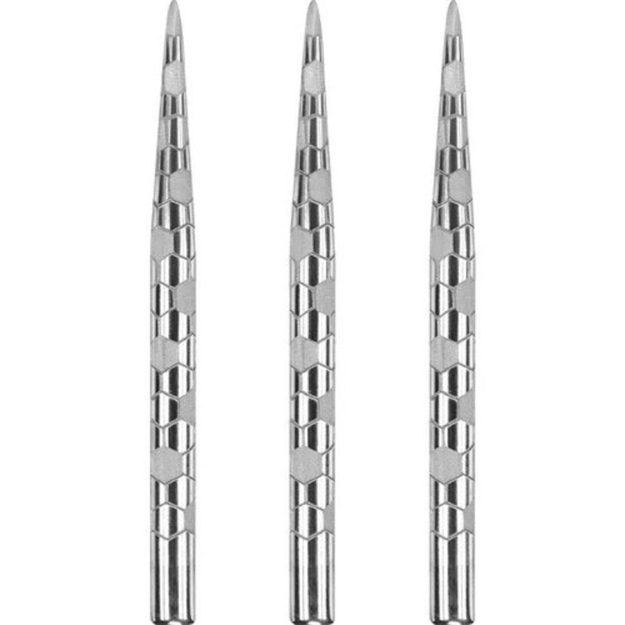 Dartpunt onyx zilver-1