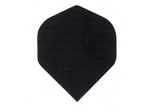 Basic collection Plumas de lino negro