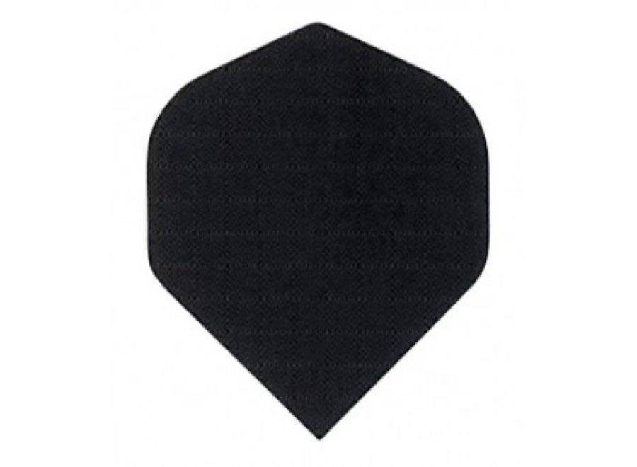 Plumas de lino negro
