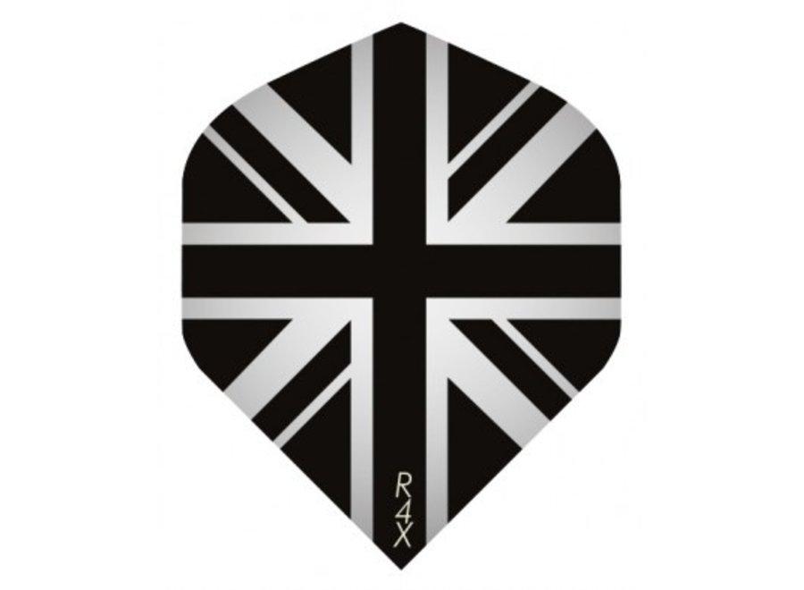 Ruthless flight Engelse vlag zwart/grijs
