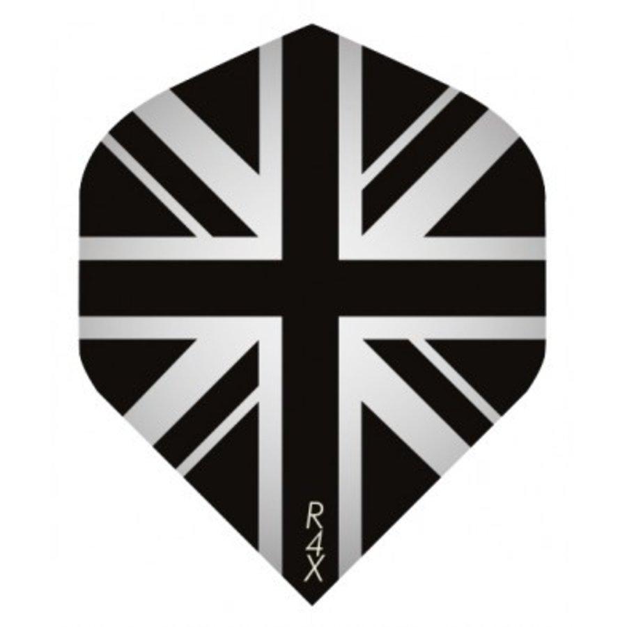 Ruthless flight Engelse vlag  zwart/grijs-1