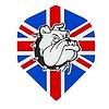Ruthless Ruthless flight Engelse vlag  bulldog