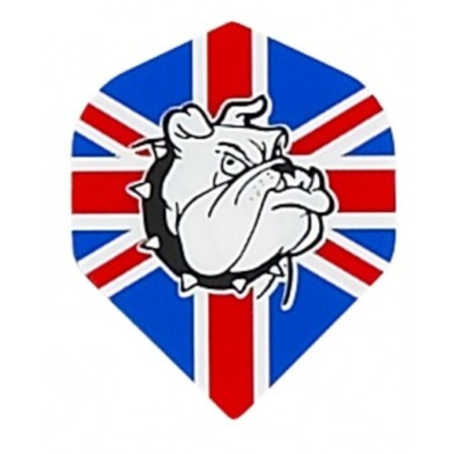 Ruthless flight Engelse vlag  bulldog-1