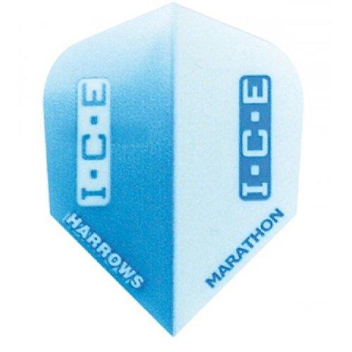 Harrows  Marathon flights blue ice