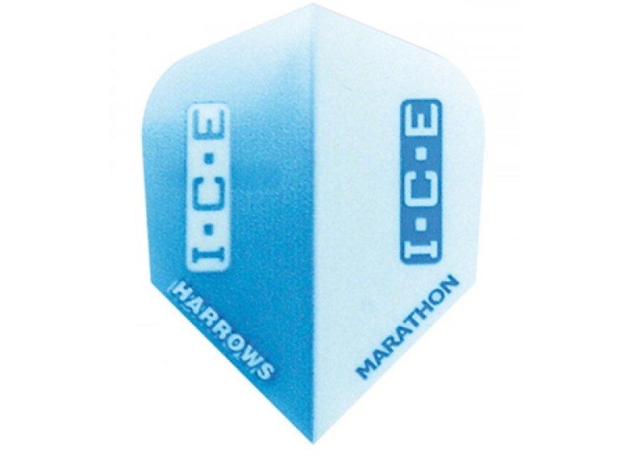 Marathon flights blue ice