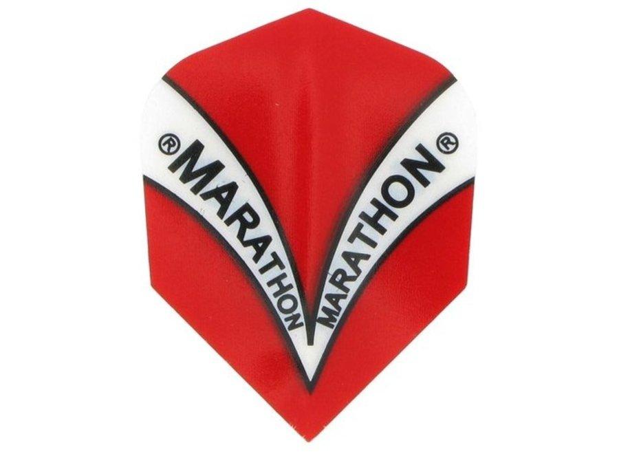 Marathon flights rood