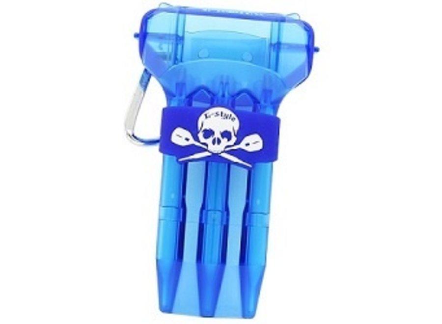 Kristal case one clear blue