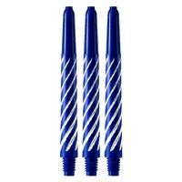 Spiroline blauw/wit