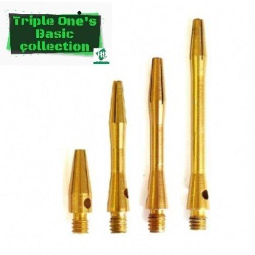 Basic collection Aluminium shaft goud