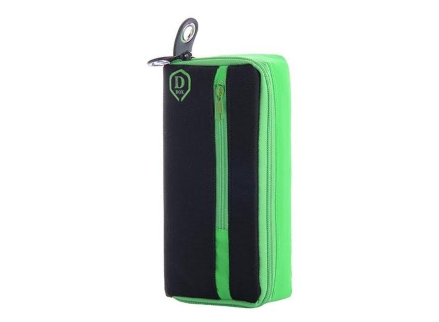 Mini D box zwart/groen