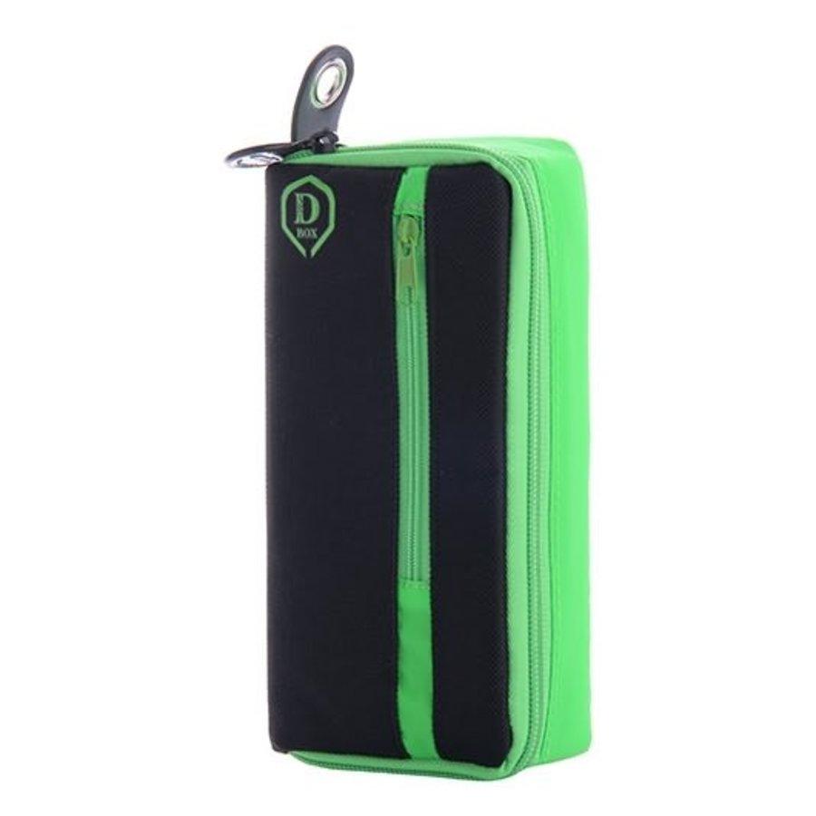 Mini D box zwart/groen-1