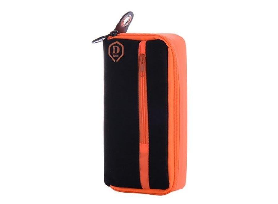 Mini D box zwart/oranje