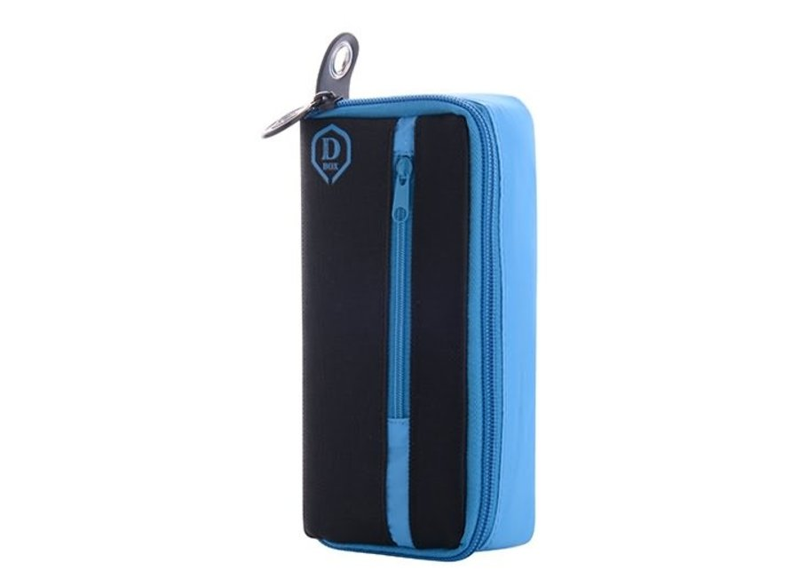 Mini D box zwart/blauw