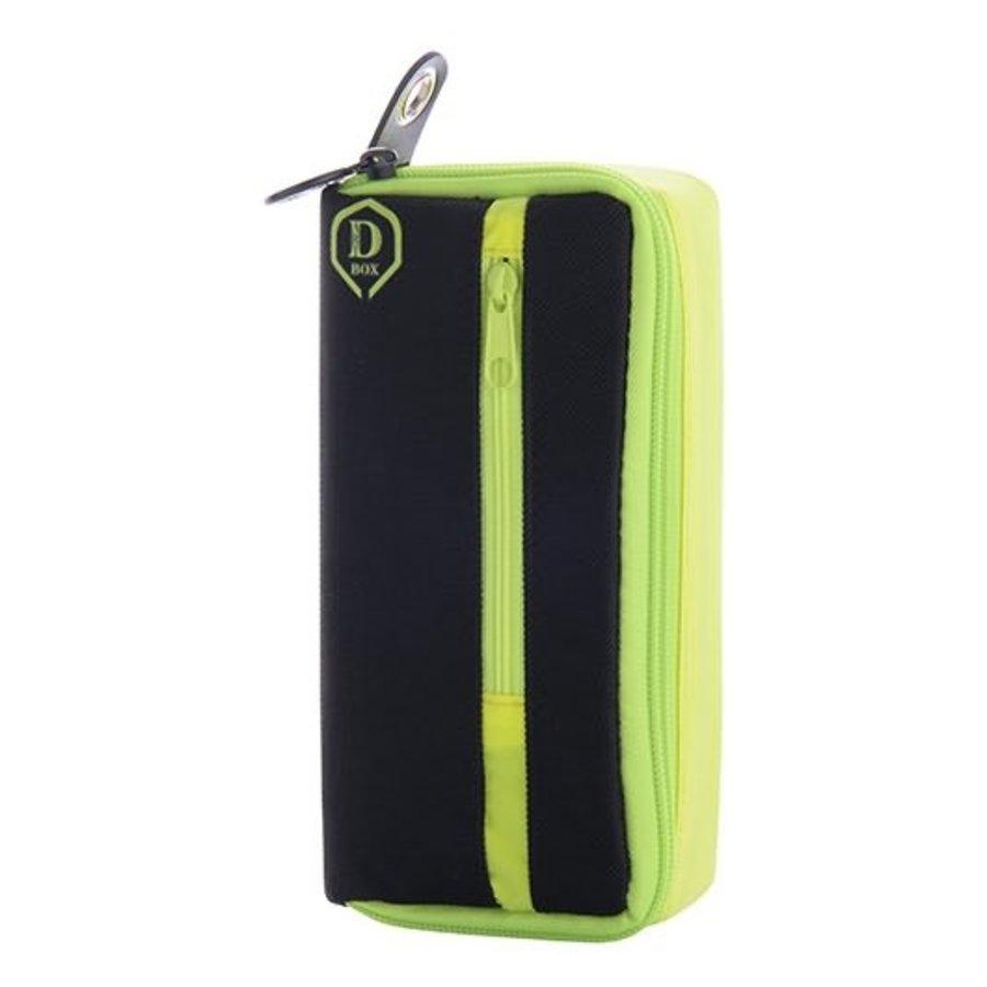 Mini D box zwart/geel-1