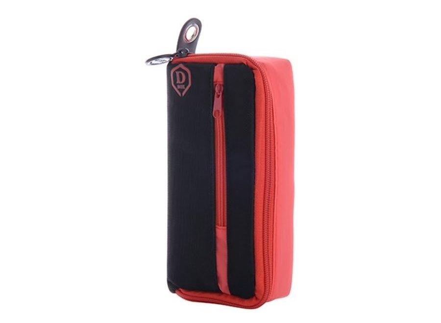 Mini D box zwart/rood