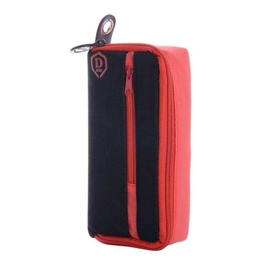 Mini D box zwart/rood-1