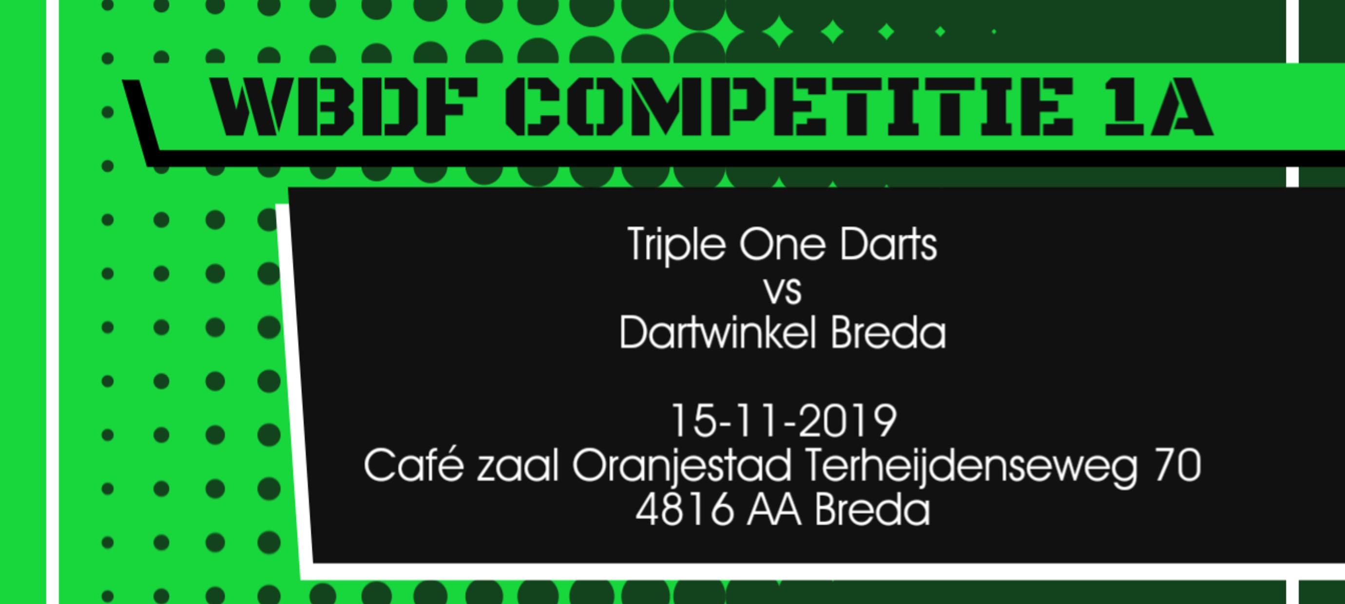 Team Triple One Darts vs Dartwinkel Breda