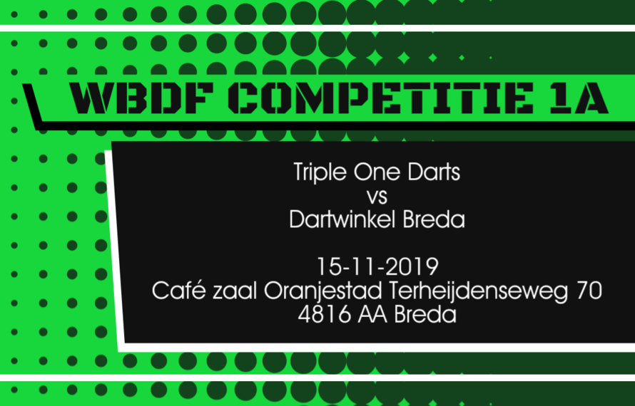 Team Triple One Darts vs Dartwinkel Breda
