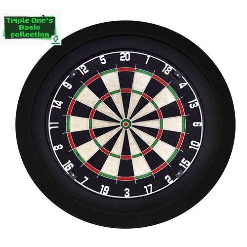 Basic collection dartbord verlichting zwart