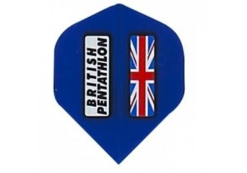 Pentathlon British pentathlon flight blauw