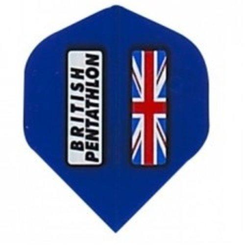 Pentathlon British pentathlon flight blauw