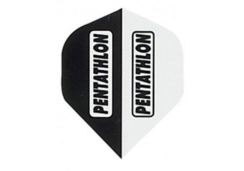 Pentathlon Pentathlon flight Black and white